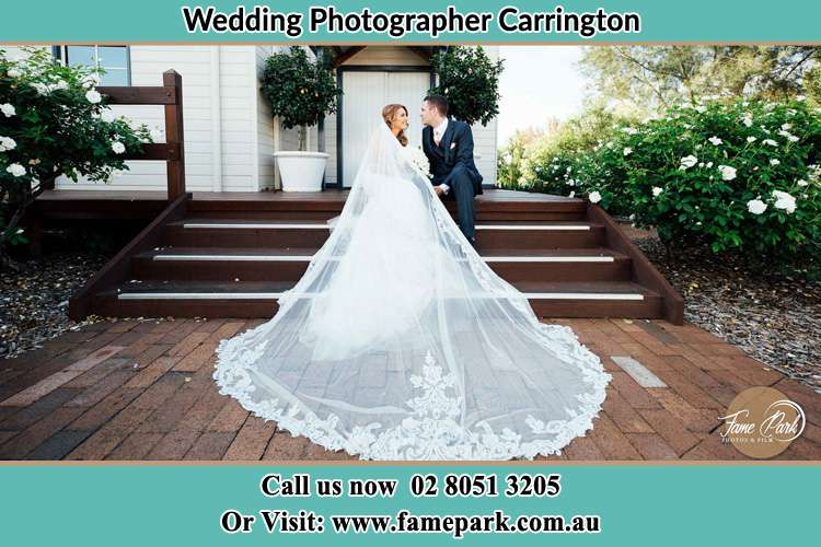 A cinematic photo of the Bride and the Groom Carrington NSW 2294